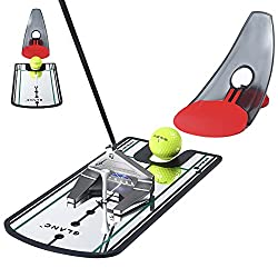 🏌️♂️Putting Mirror Training Aid for Golf - This golf putting alignment mirror is featured with lines to help put your eyes in the correct position consistently. Gives a ture view of your head and shoulder alignment over the golf ball, more accurate ...
