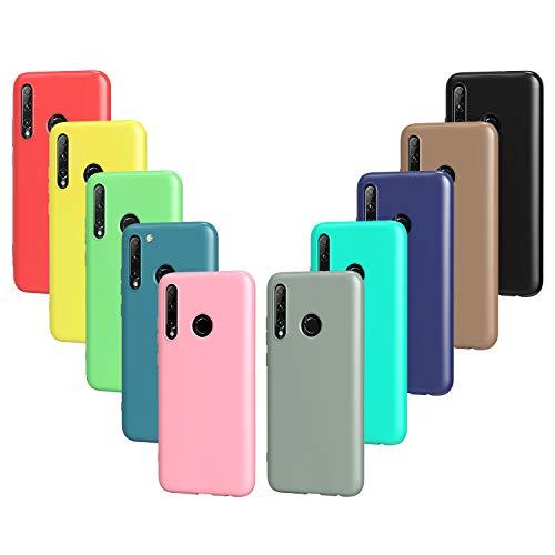 VGUARD 10x Hülle für Huawei P Smart 2019 / P Smart Plus 2019 / Honor 20 Lite / Honor 10 Lite/Honor 20e, Ultra Dünn Tasche Schutzhülle Weiche TPU Silikon Matte Oberfläche Schmaler Handyhülle Hülle Cover