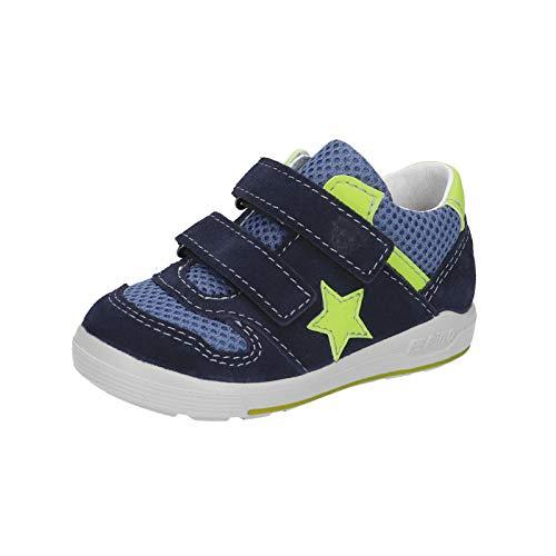 RICOSTA Kinder Boots NURI von Pepino, Weite: Mittel (WMS),lose Einlage,Kinderschuhe,Halbschuhe,mit,flexibel,Nautic/Jeans (173),28 EU / 10 Child UK