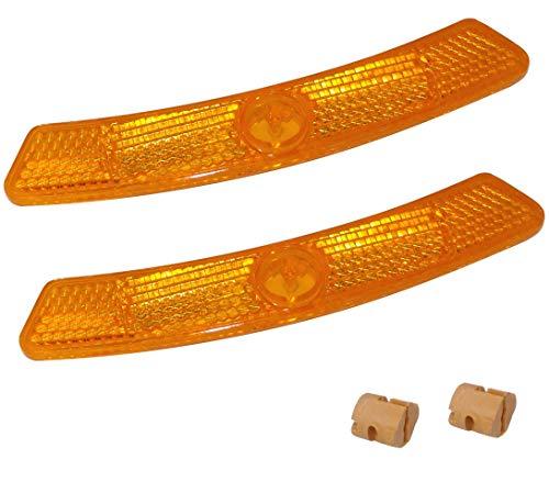AERZETIX Reflektoren für Felgen Speichen Rad C41144