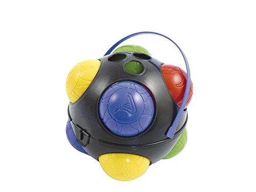 Adriatic 118/B - Juego de petanca con 8 bolas de colores