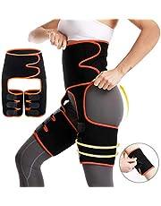 Pahajim Taille Dij Trainer 3-in-1 Taille Trimmer Body Shaper voor Vrouwen Lumbale Ondersteuning Riem Postpartum Buik Vetverbrander Slimmer Butt Lift Assist voor Training, Fitness Shapewear