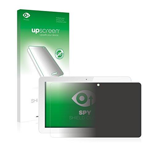 upscreen Anti-Spy Blickschutzfolie kompatibel mit Odys Score Plus 3G Privacy Screen Sichtschutz Bildschirmschutz-Folie