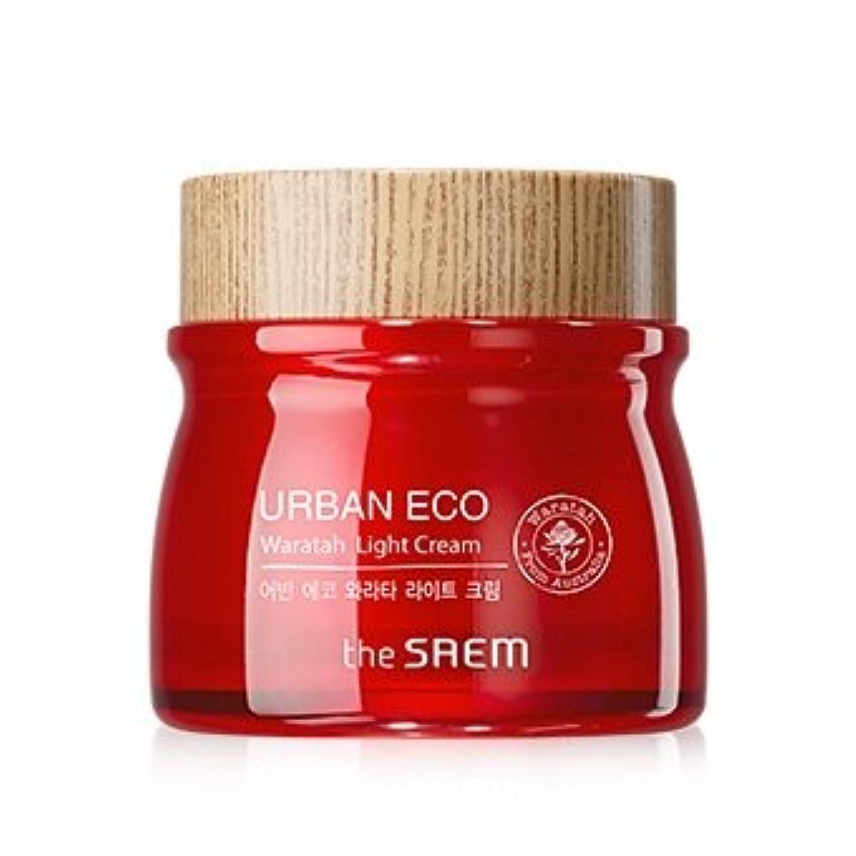 再集計プール敏感なThe Saem Urban Eco Waratah Light Cream 60ml ドセム アーバンエコワラターライトクリーム60ml[並行輸入品]