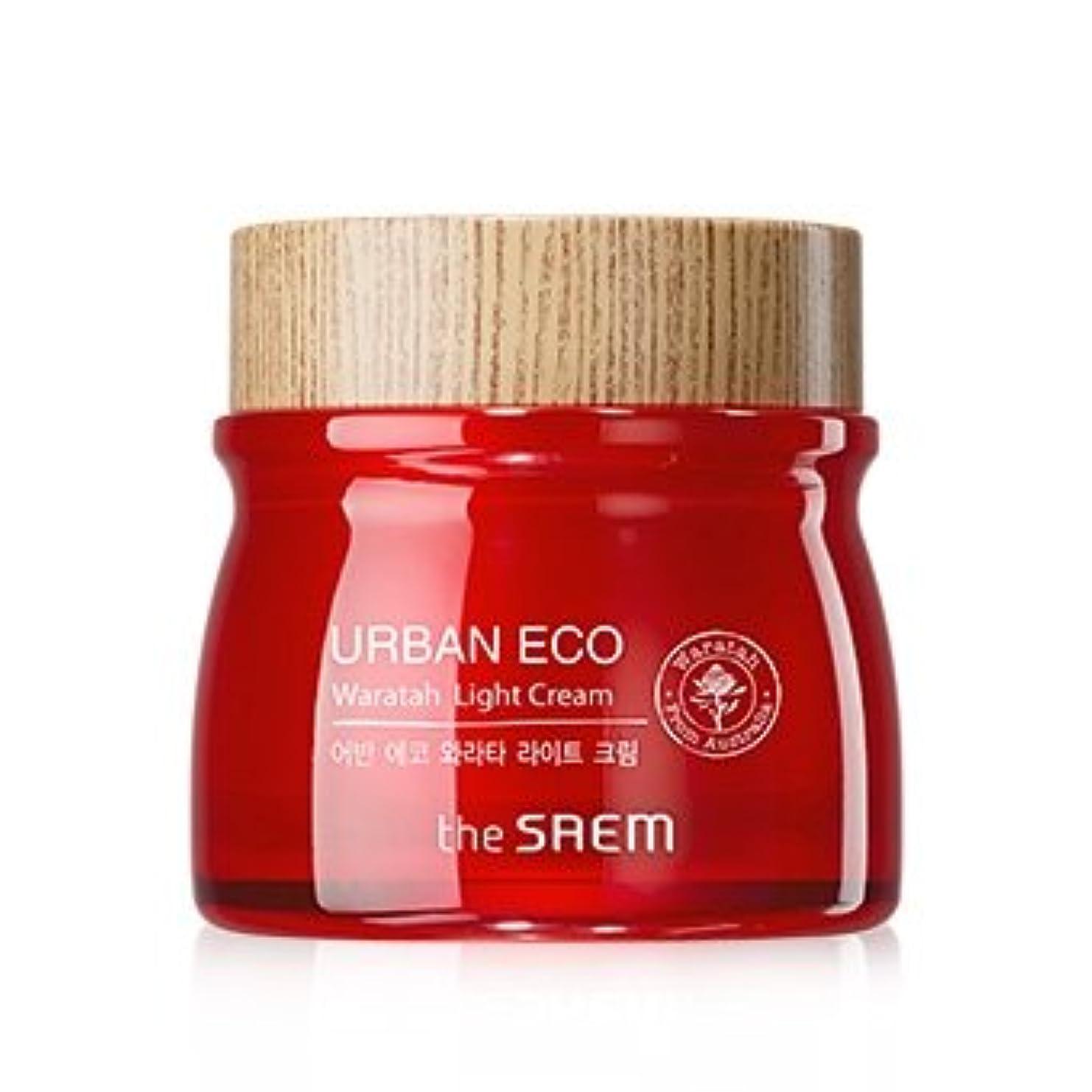 工業化する机時The Saem Urban Eco Waratah Light Cream 60ml ドセム アーバンエコワラターライトクリーム60ml[並行輸入品]