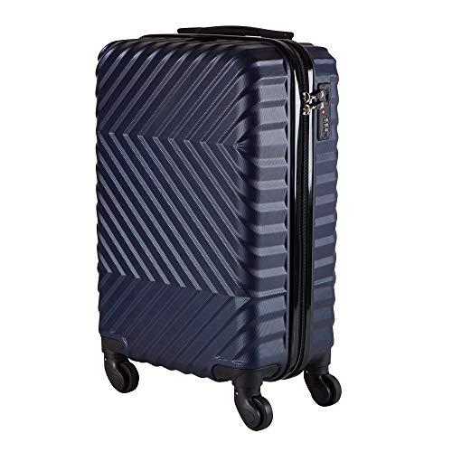 Mala de Bordo em ABS Com 4 Rodas 360 - Denver (Azul)