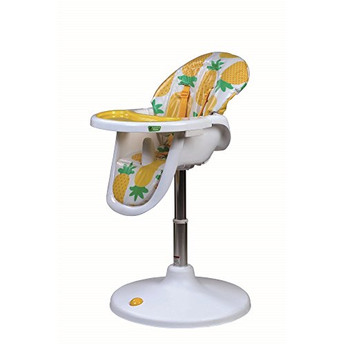 Vital Innovations CHC-03P Hochstuhl Circle High Chair Deluxe, gelb/weiß