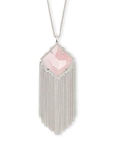 Kendra Scott Kingston Long Pendant Fringe Necklace for Women, Fashion...
