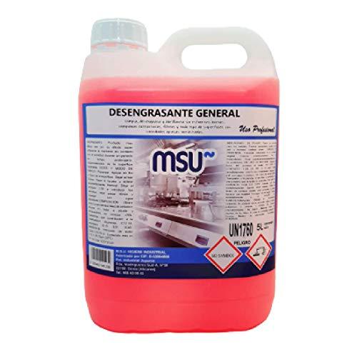 MSU® - Desengrasante General Cocinas. Envase 5 Litros