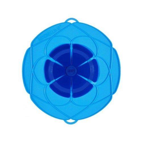 Kochblume Überkochschutz blau klein - Ø 25,5 cm