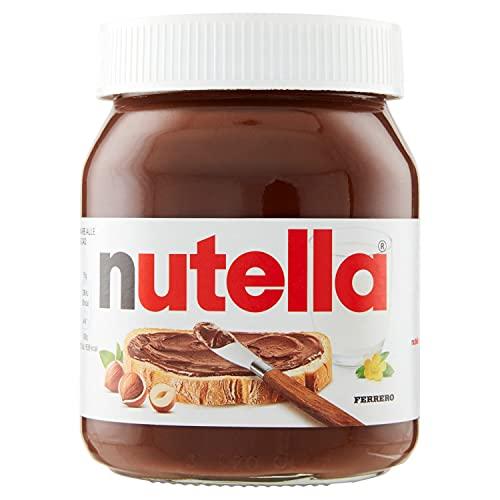 Nutella Crema Spalmabile alle Nocciole e al Cacao, 450g