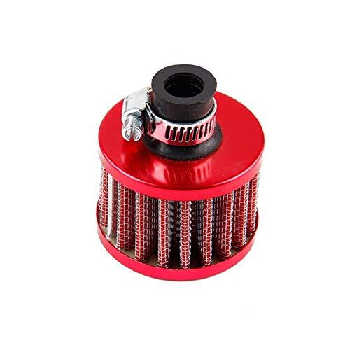 xldiannaojyb Universal Mini Filtro de admisión de Aire frío Filtro de Aire de Tela no Tejida 25 mm 1 Pulgada Filtro Accesorios para automóvil