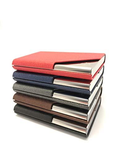 Produkt: BusinessCardHolder | Model: USA | Beschreibung: Schlichter Geld- und Kartenhalter | Farbe: WÄHLBAR (SCHWARZ)