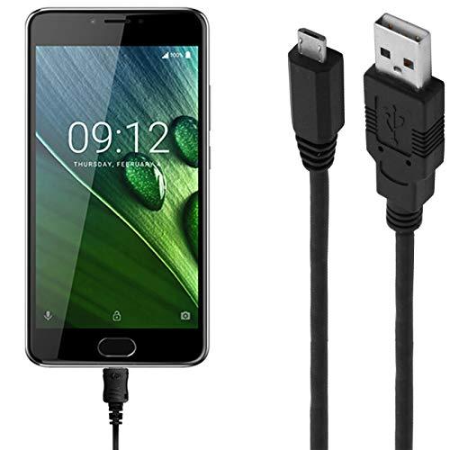 ASSMANN Ladekabel/Datenkabel kompatibel für Acer Liquid Z6 Plus - schwarz - 1m