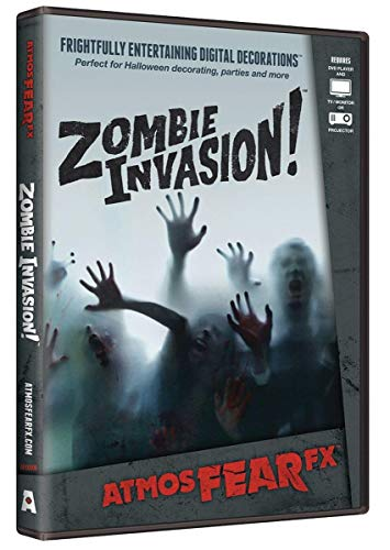 AtmosFEARfx Zombie Invasion! Halloween Digital Decorations DVD by AtmosFearFX