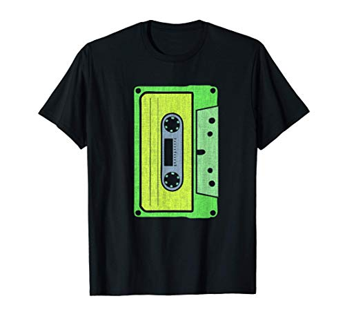 Cinta de casete para amantes de los años 80 y 90 Disfraz Camiseta