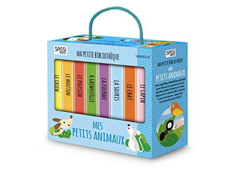 Ma petite bibliothèque Mes petits animaux : Coffret en 8 volumes : Le chat ; Le poussin ; La souris ; La grenouille ; Le chien ; Le mouton ; La fourmi ; Le lapin