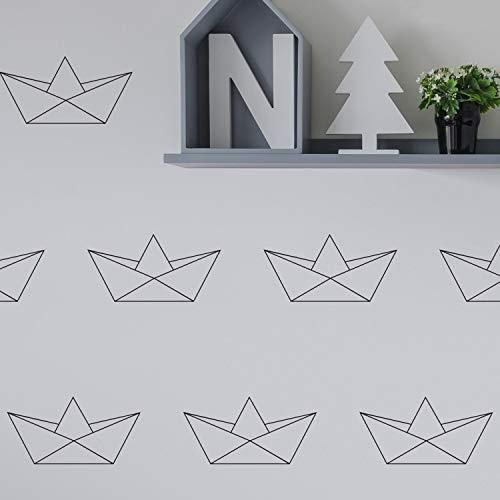 Muurstickers Origami Boats - Muurstickers - Muurdecoratie - Muurdecoratie - Muurdecoratie - Muurdecoratie - Muurdecoratie - Muurdecoratie - Origami - Boten Eenvoudig aan te brengen en verwijderbaar Eenvoudig aan te brengen en verwijderbaar