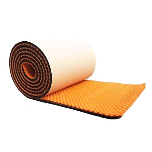 C-J-Xin High Density Geluidsisolatie Wall Panel Tegels Geluidsisolatie, zelfklevend Portable geluidsabsorberende katoen Dikte: 5cm Recording Studio akoestische panelen (Color : Orange)