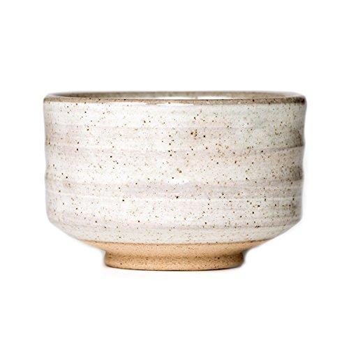 P & T Saisho Bowl, japanische Matcha Schale, Tee Zeremonie Keramik Chawan, natürliche Glasur (300ml / 10.1oz)