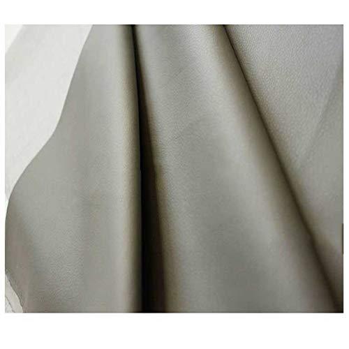 LILAMP Tapicería de Tela de Imitación de Cuero Gris Material Texturizado de Alta Resistencia, para la Renovación de la Funda del Asiento Bolsa Suave Junto A la Cama, 1 Pieza = 100 Cm(Size:1.4x2m)