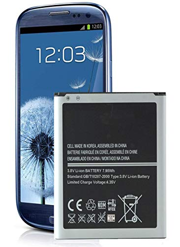Galaxy S3 Battery,Cleantt 2100mAh Li-ion Battery Replacement for Samsung Galaxy S3, EB-L1G6LLU, Verizon I535, T-Mobile T999, Sprint L710, AT&T I747, R530, LTE I9305