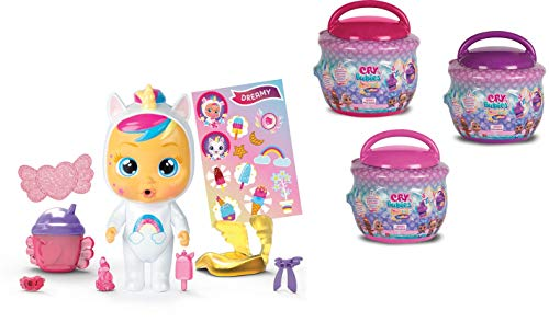 IMC Toys- Cry Babies Magic Tears Bambola in Casetta, Multicolore, 90309