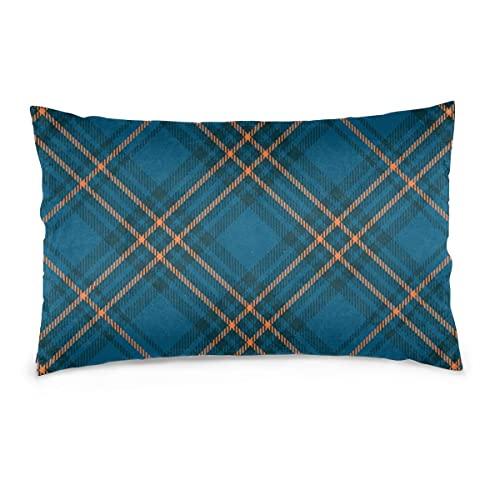 Fundas de Almohada Textura de Tela clásica de 16 x 24 Pulgadas para impresión Textil Digital. Throw Pillow Covers Sofá Coche Funda de cojín Decorativo para el hogar 40X60CM