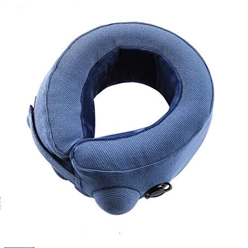 Almohada de viaje para el cuello para dormir Soporte calefactor para el cuello Soporte para el dolor, Almohada para el cuello en forma de U, Almohada para el cuello del avión, Cintura, Relajación