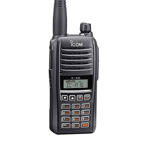 Icom IC-A16B (Bluetooth) VHF Air Band Handheld Transceiver Radio