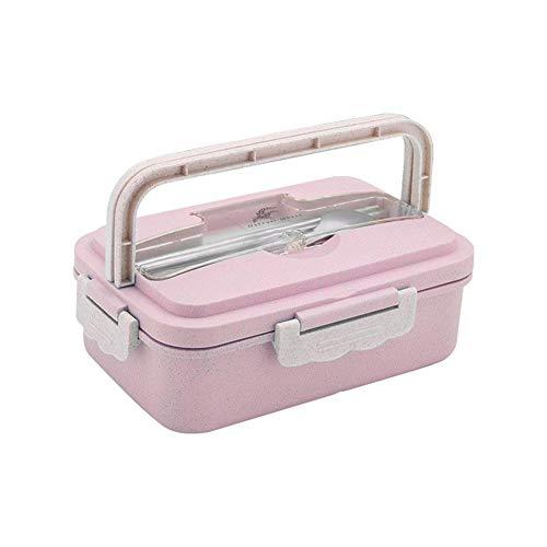 Erwachsene Bento Box Lebensmittel Vorratsbehälter-Mittagessen Suppe Schüssel Lebensmittelbehälter Box Isolierte Bento Taschen Work School Picknick Food Box Organizer Essensbox Box-Set
