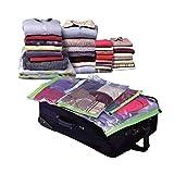 FXJ 1 * Manual Pump + 04.05 * Compressed-Beutel-Speicher-Bekleidung Saug-Verpackungs-Beutel Shop Decken Bettdecken Quilts Vorhang Kissen Lagerung 40~80cm (Color : 4Pcs 80x60cm)