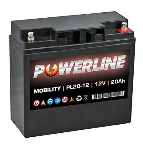 Preisvergleich Produktbild PL20-12 Powerline Akku 12 V 20 Ah