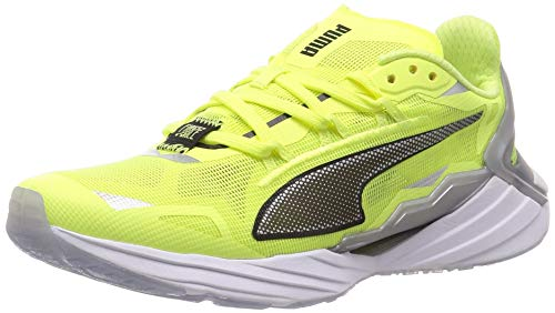 PUMA x First Mile UltraRide Xtreme Damen Laufschuhe Fizzy Yellow-Black-Silver UK 7.5_Adults_FR 41