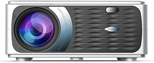 Proyector WIFI Proyector 3800 lúmenes Soporte 1080 p Smart Wireless Bluetooth LED Proyector Home Theater para películas de juegos