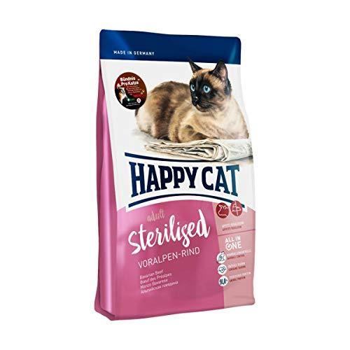 Happy Cat Supreme Sterilised Voralpen-Rind, 10 kg