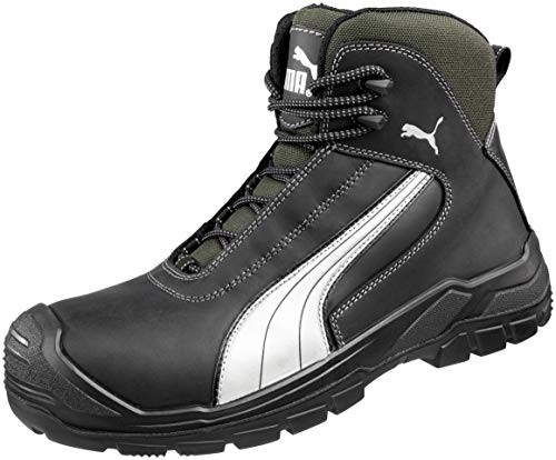 Puma Safety Shoes Cascades Mid S3 HRO SRC, Puma - zapatos de seguridad, color Negro, talla 44