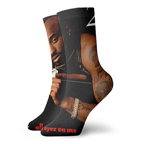 Novelty Fashion Soft Short Cotton Socks Death Row Records Compression Socks Women & Men - Best Running, Athletic Sports, Crossfit, Flight Travel