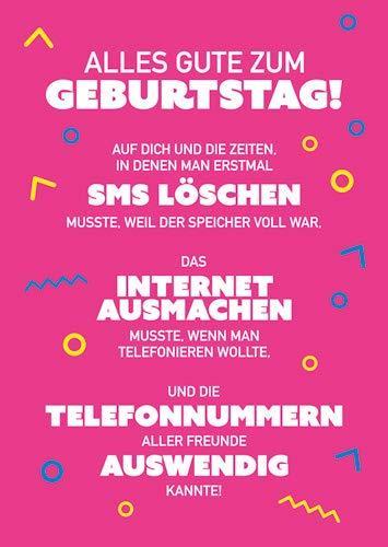 Postkarte A6 +++ LUSTIG von modern times +++ SMS LÖSCHEN +++ MODERN TIMES © Kindheitserinnerungen ? Cobranded