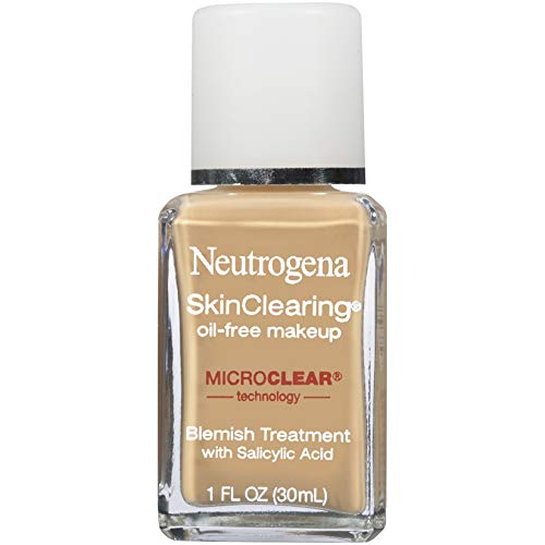NEUTROGENA - SkinClearing Liquid Makeup #60 Natural Beige - 1 fl. oz. (30 ml)