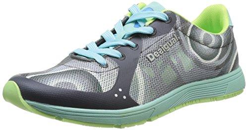 Desigual Libertad, Zapatillas de Deporte Interior Mujer, Verde-Vert (4041 Caipiriña), 39