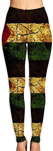 Harla Vintage Palestine Women's High Waist Yoga Pants Tummy Control Leggings