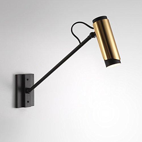 JSJ - designer chambre d'hôtel de chevet lampe de mur en or Nordic simple créative couloir post-moderne salon lampe de mur