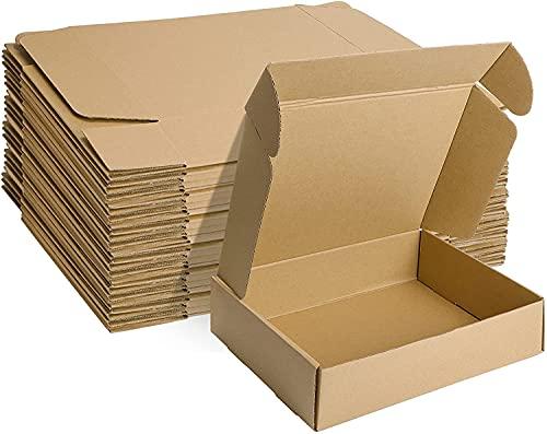 Cajas Móviles De Embalaje De Almacenamiento De Cartón Fuerte con Asas De Transporte Y Lista De Habitaciones (50 Piezas) (Color : 50 Pack, Size : 25x25x5cm)