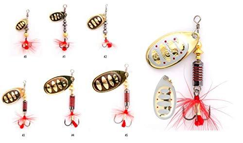 Mepps Aglia Spinners No7 30 G sandre Prédateur Pêche