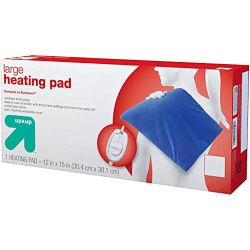 Heating Pad - King Sized - Up&Up153; (Compare to Sunbeam) Blue