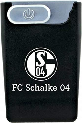 FC Schalke 04 Feuerzeug Sturmfeuerzeug USB Card Lighter schwarz