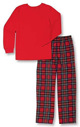 PajamaGram Big Boys' Flannel...