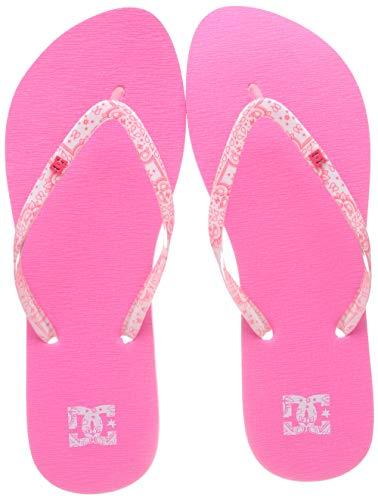 DC Shoes Spray Se, Scarpe da Spiaggia e Piscina Donna, Rosa Pink Pip, 36 EU