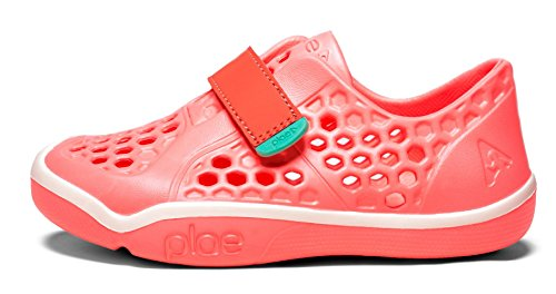 plae Girl's Mimo Sneaker, Coralin, 13 M US Little Kid